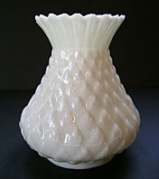 Belleek pottery image - BEAUTIFUL ANTIQUE BELLEEK THISTLE TOP VASE SECOND BLACK MARK C.1891-1926